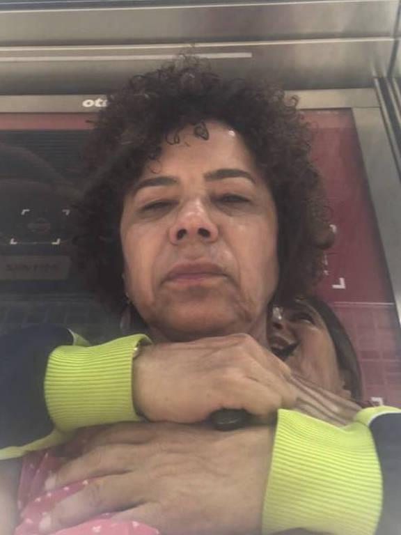 Selfie feita por vítima enquanto era mantida refém em ponto de ônibus na av. Paulista, em SP
