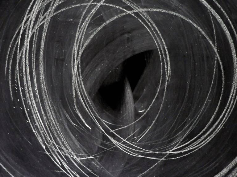 desenho em preto e branco