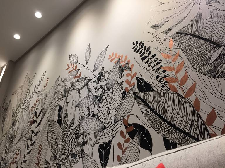 Personalização de paredes