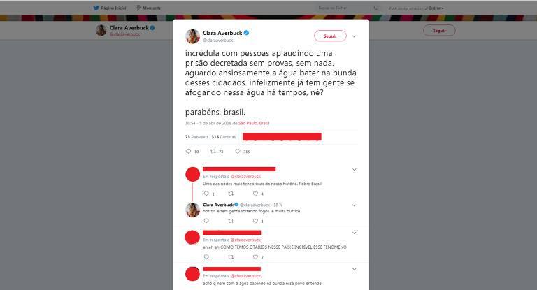 Celebridades repercutem decreto de prisão de Lula