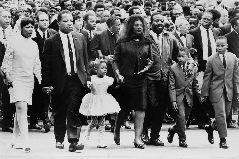 1968: Adeus a Luther King leva mais de 150 mil pessoas a Atlanta