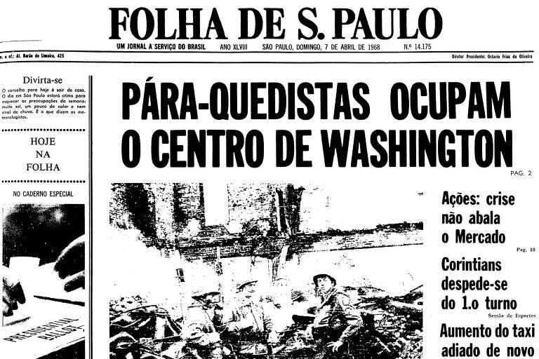 1968: Motins sacodem os EUA e fazem da capital uma praça de guerra