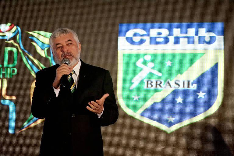 O presidente afastado da Confederação Brasileira de Handebol, Manoel Luiz de Oliveira