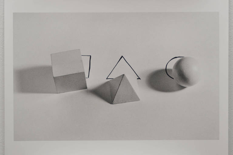 """Geometric Shapes With Drawings"",  da  argentina Liliana Porter"