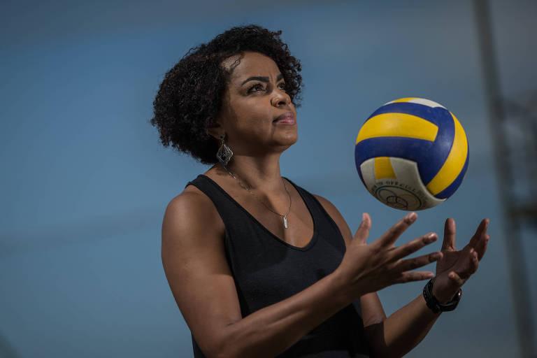 A ex-levantadora de vôlei Fofão lançará sua biografia na próxima semana