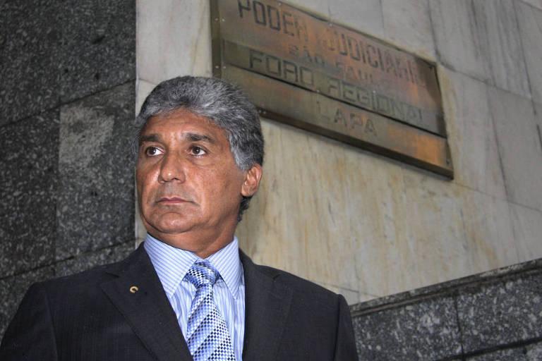 aulo Vieira, conhecido como Paulo Preto, presta depoimento no Forum Regional da Lapa sobre envolvimento do Vice Pres. do PSDB Eduardo Jorge no caso de propina nas obras do Governo Paulista em 2011