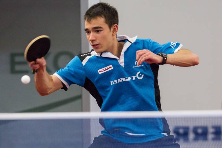 Hugo Calderano revelação do Tênis de mesa brasileiro
