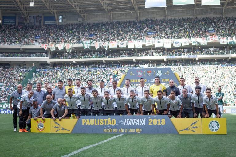 Elenco do Corinthians, campeão do Campeonato Paulista de 2018