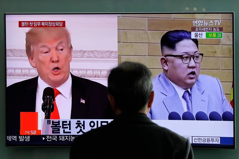 Encontro de Donald Trump com Kim Jong-un poderá ocorrer em breve