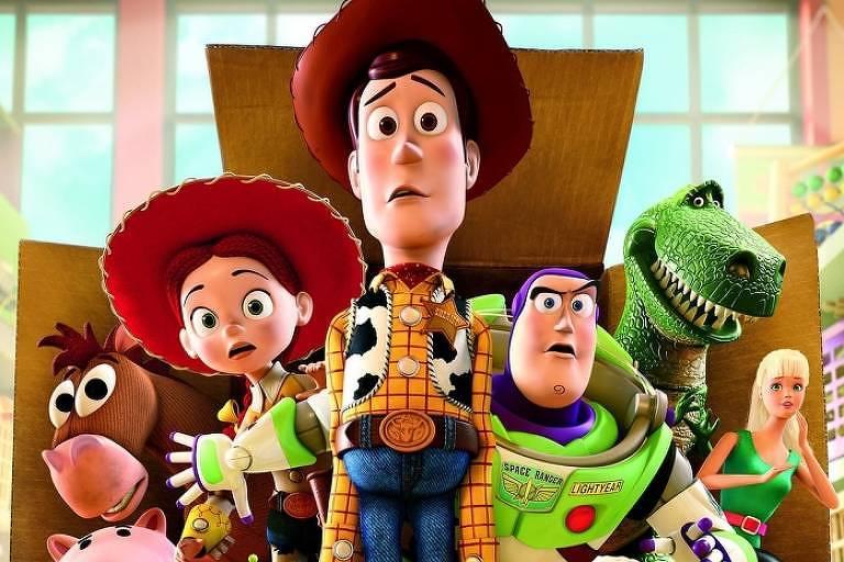 Cena de Toy Story