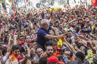 Prisão do ex-presidente Lula