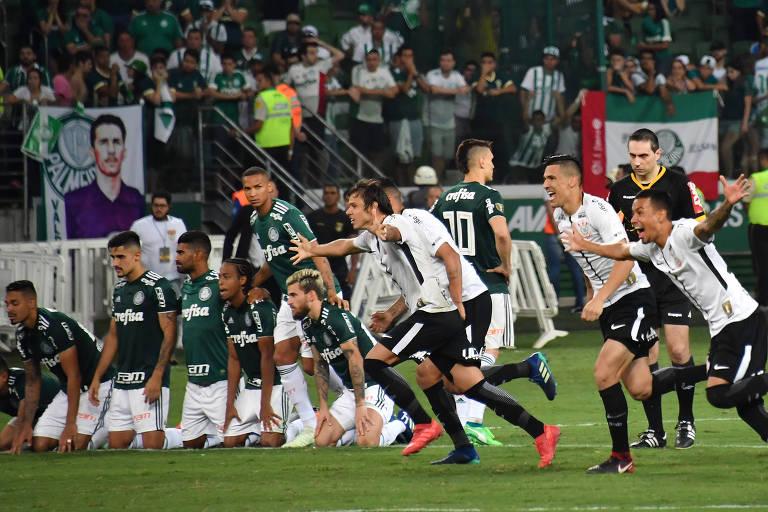 Palmeiras perdeu decisão do Campeonato Paulista para o Corinthians no Allianz