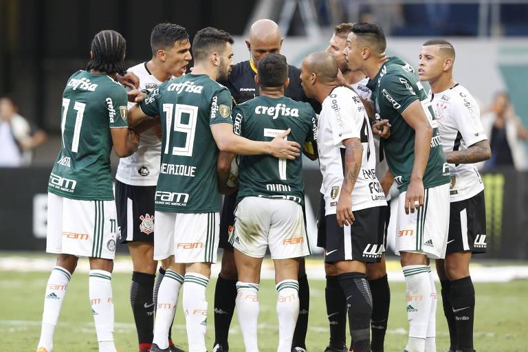 Corinthians conquista título estadual contra o Palmeiras