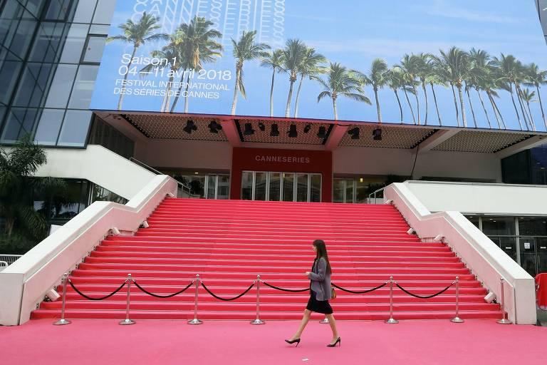 O tapete vermelho do Festival de Cannes