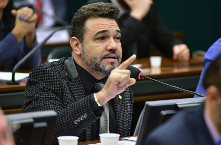 O deputado federal Marco Feliciano (Podemos-SP), autor de pedido de impeachment do vice-presidente, general Mourão