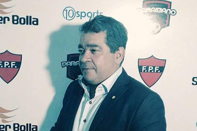 Amadeu Rodrigues, presidente da Federação Paraibana de Futebol