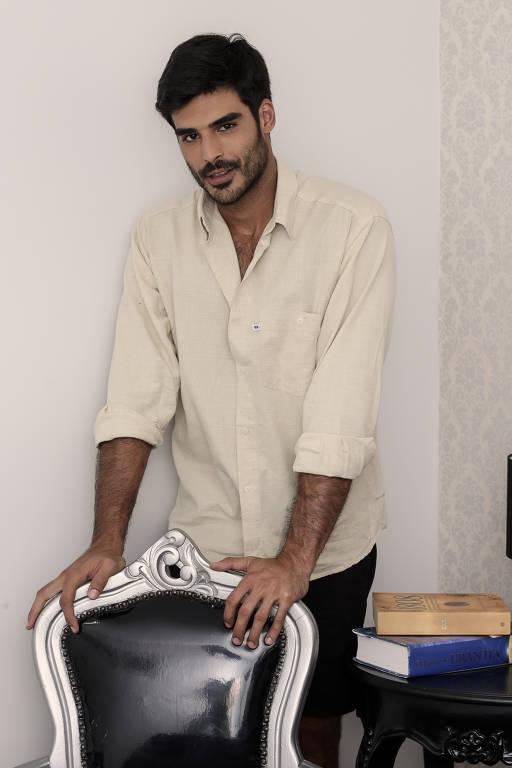 O ator Anderson Tomazini