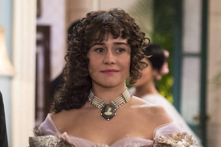 Susana (Alessandra Negrini) em cena da novela 'Orgulho e Paixão'