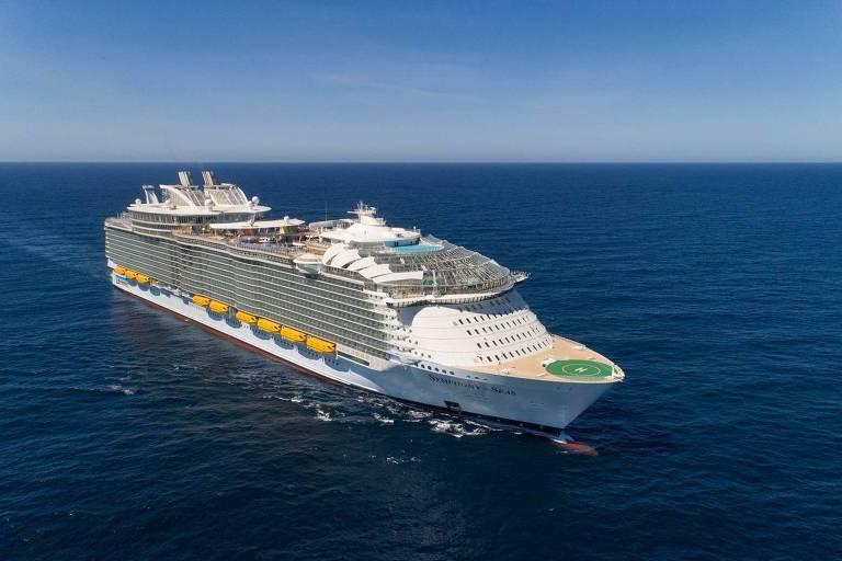 Conheça o novo maior navio do mundo