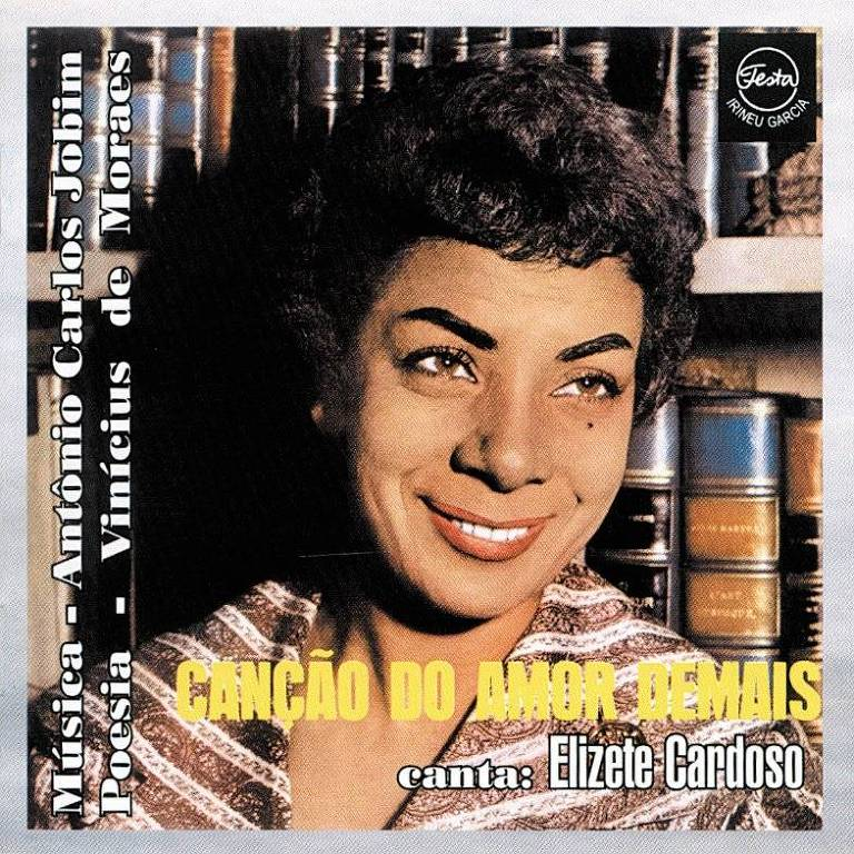 "Capa do disco ""Canção do Amor Demais"", de Elizeth Cardoso"