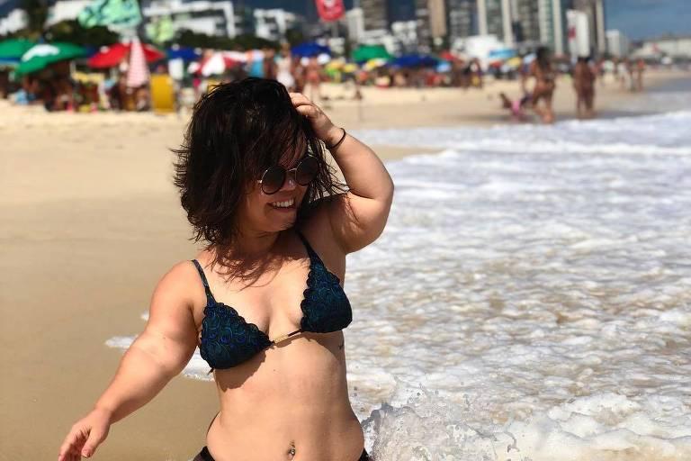 Juliana Caldas em foto publicada no seu Instagram
