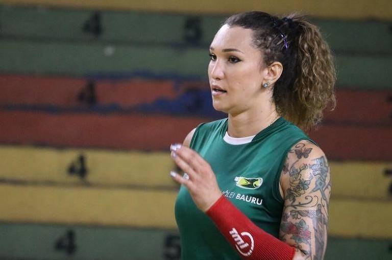 Tifanny Abreu, oposta do Vôlei Bauru