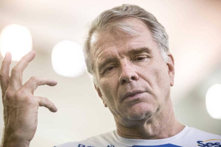 Bernardinho, ex-técnico da seleção brasileira masculina de vôlei