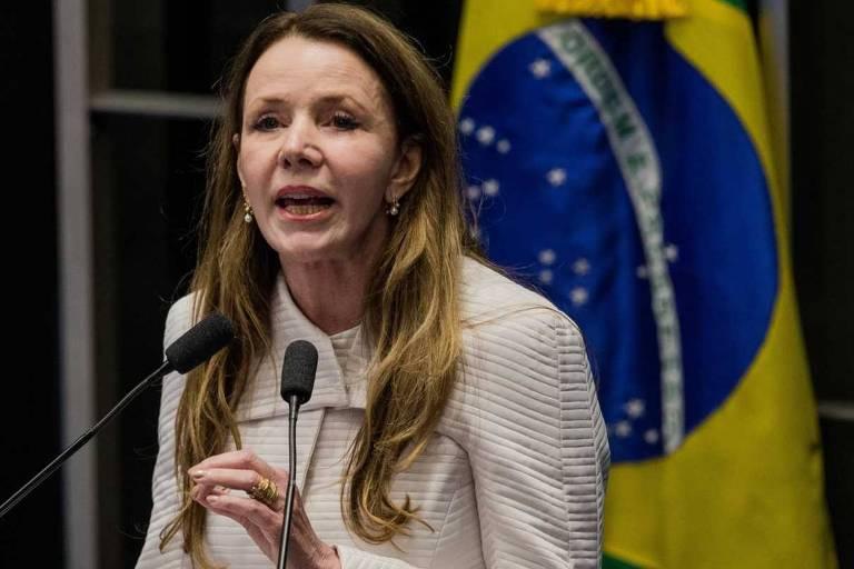 A senadora Vanessa Grazziotin (PC do B-AM), relatora do projeto aprovado no Senado