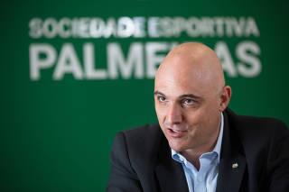 ENTREVISTA COM O PRESIDENTE DO PALMEIRAS