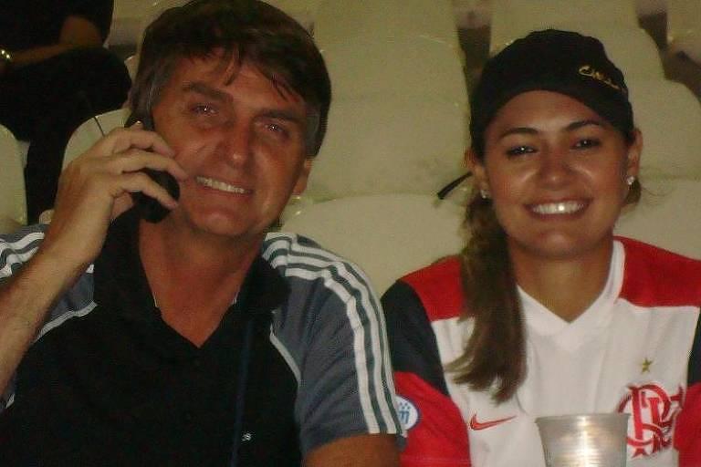 A bela da fera, conheça Michelle Bolsonaro