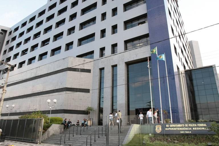 Sede da Polícia Federal em São Paulo (SP)