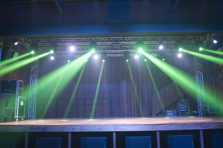 O Templo Music tem capacidade para acomodar até 900 pessoas