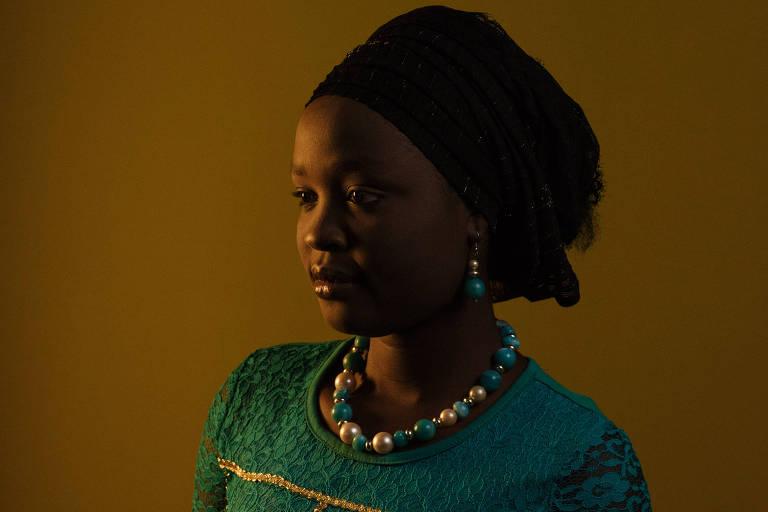 Hauwa Ntakai at the American University of Nigeria in Yola, Nigeria.