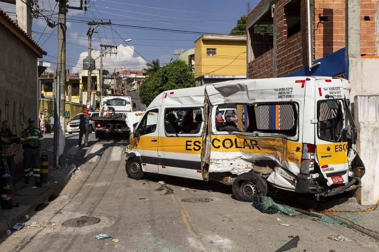 Acidente em Carapicuíba (SP)