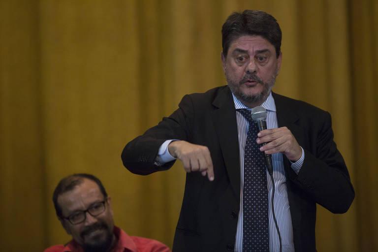 O deputado Wadih Damous (PT-RJ), durante evento no Rio