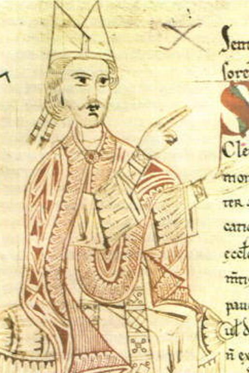 Ilustração do papa Gregório 7º