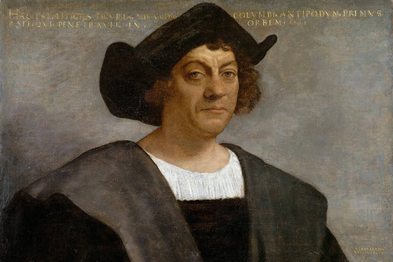 Suposto pintura retratando de Cristovão Colombo