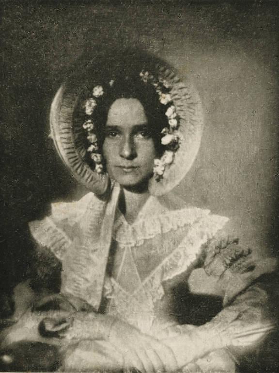 Retrato de Dorothy Catherine Draper. É o mais antigo e bem definido retrato de uma pessoa