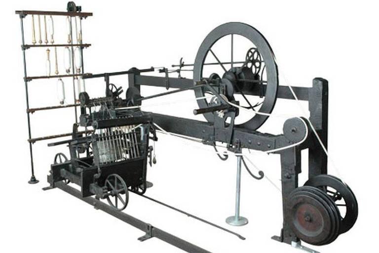 Tear, máquina de produção de tecidos
