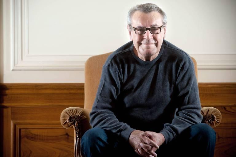 O diretor de cinema Milos Forman em foto de 2009, em Paris