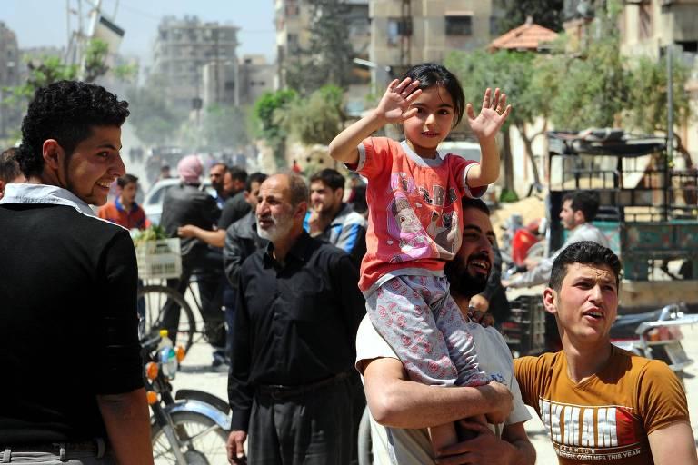 Há fortes evidências de que o regime sírio usou armas químicas
