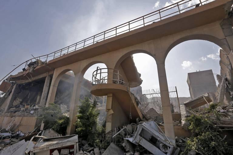 Síria após ataques de EUA, Reino Unido e França