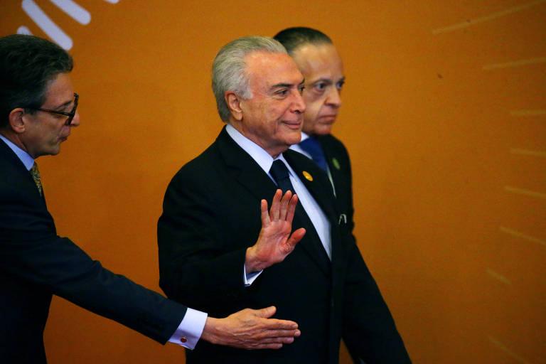 O presidente Michel Temer participa da Cúpula das Américas, em Lima, no Peru