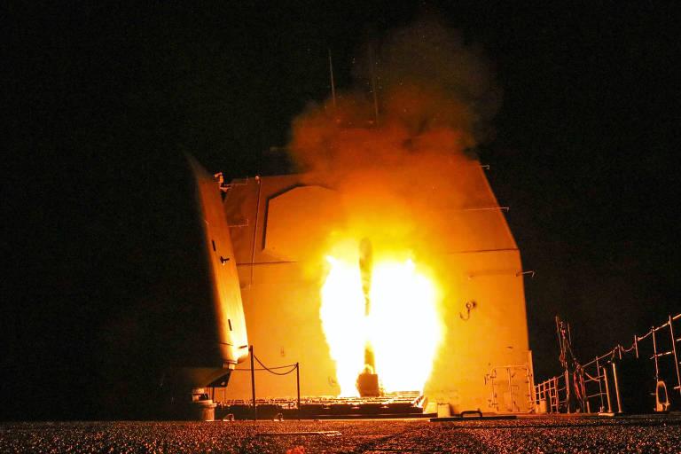 EUA, Reino Unido e França atacam Síria