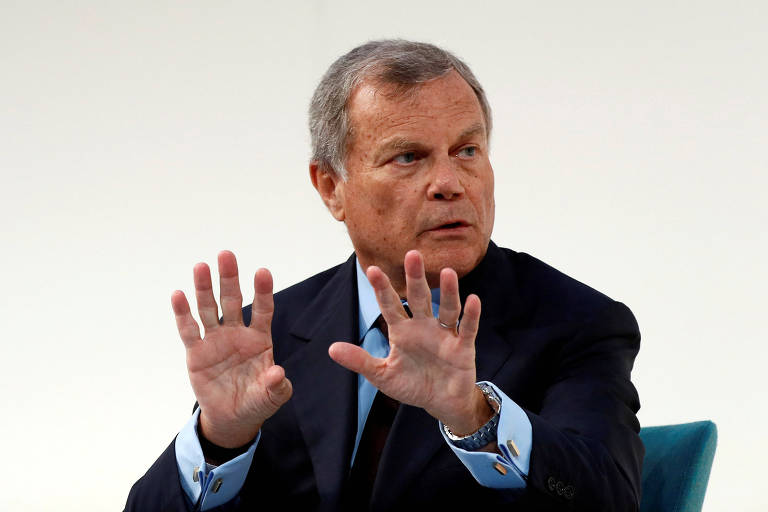 Martin Sorrell, que renunciou à presidência-executiva da WPP