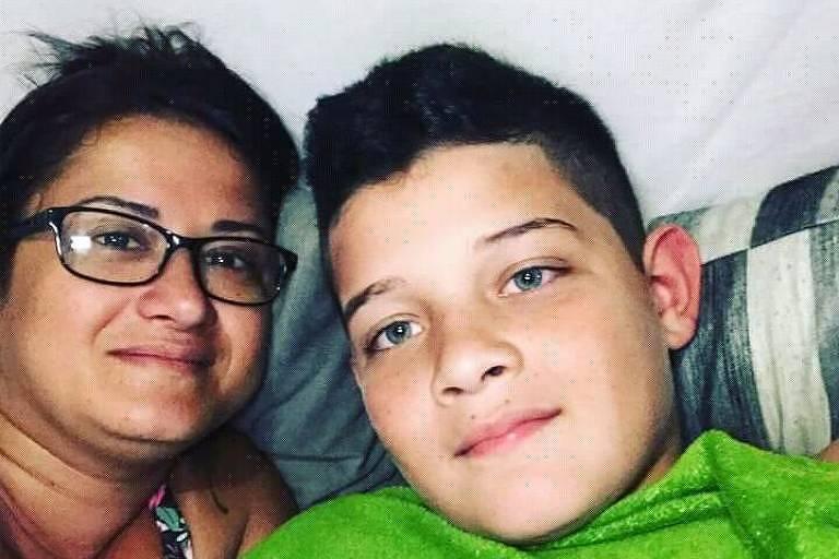 Ricardo dos Santos, morto em acidente entre uma van escolar e um caminhão na Grande SP