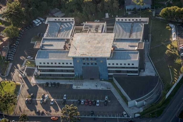 Sede da Policia Federal em Curitiba