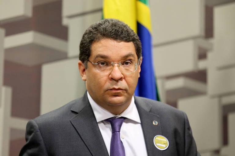 Mansueto de Almeida, secretário de Acompanhamento Econômico do Ministério da Fazenda, fala na comissão de Assuntos Econômicos do Senado Federal
