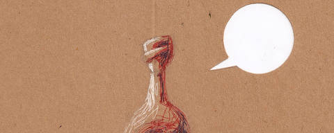 Ilustração Carvall para coluna da ombudsman