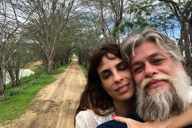 Fábio Assunção e Maria Ribeiro no Sertão do Cariri, na Paraíba